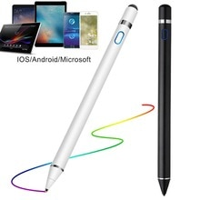 Universal Capacitive Active Stylus Touch Screen Pen Smart IOS/Android Apple iPad Phone Pencil Touch