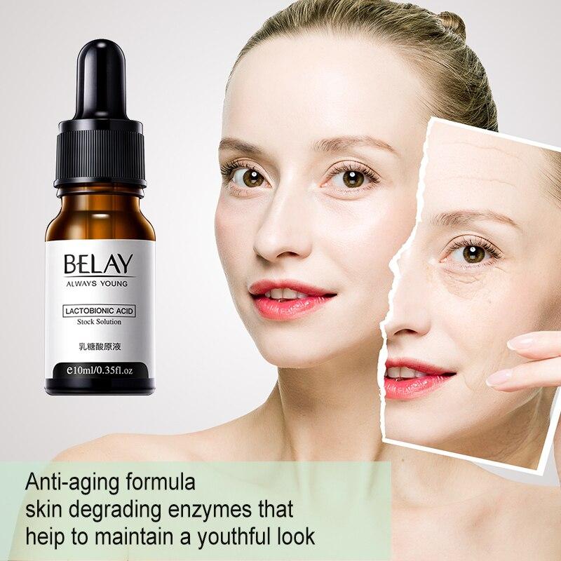 Zero Pore Instant Perfection Face Serum Lactobionic Acid Stock Solution Minimize Pore Anti-Aging Wri