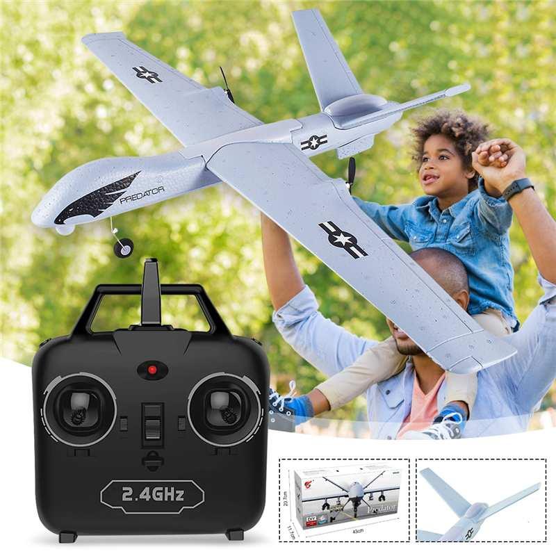 Z51 Predator RC Airplane Remote Control RC Plane 2.4G 2CH 660mm Wingspan EPP DIY Glider RTF Built-in