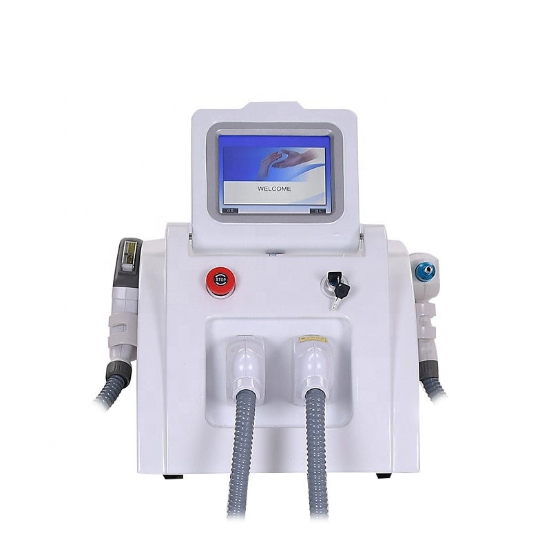 Instrumento de belleza para depilación láser, popular, SHR /OPT/elight ipl
