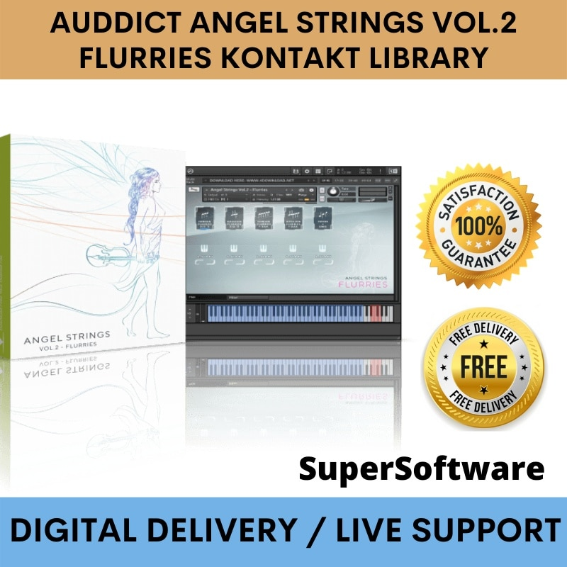 Auddict anjo cordas vol.2 flurries biblioteca de contato✅Janelas & Mac✅FuII VERSlON✅FUNCIONANDO 100%✅SERVIÇO de AJUDA 24/7