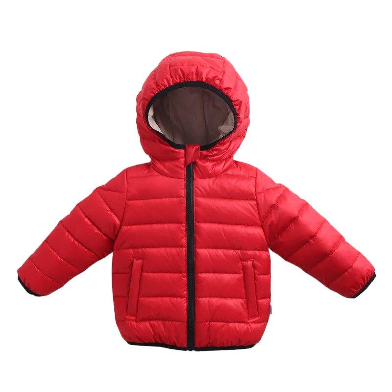 Winter Clothes for Boys Lightweight Children's Down Jacket Outerwear White Duck Down Liner Down Jacket Infant Children Sports enlarge