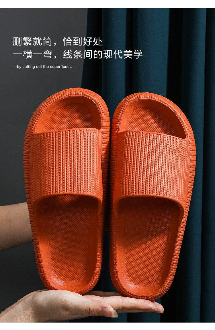 أحذية نسائية صيفية ، أحذية أرضية منزلية للعشاق ، توصيل مباشر