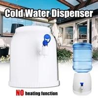 desktop mini drink dispenser gallon drinking bottle portable countertop cooler drinking faucet tool press water pumping device