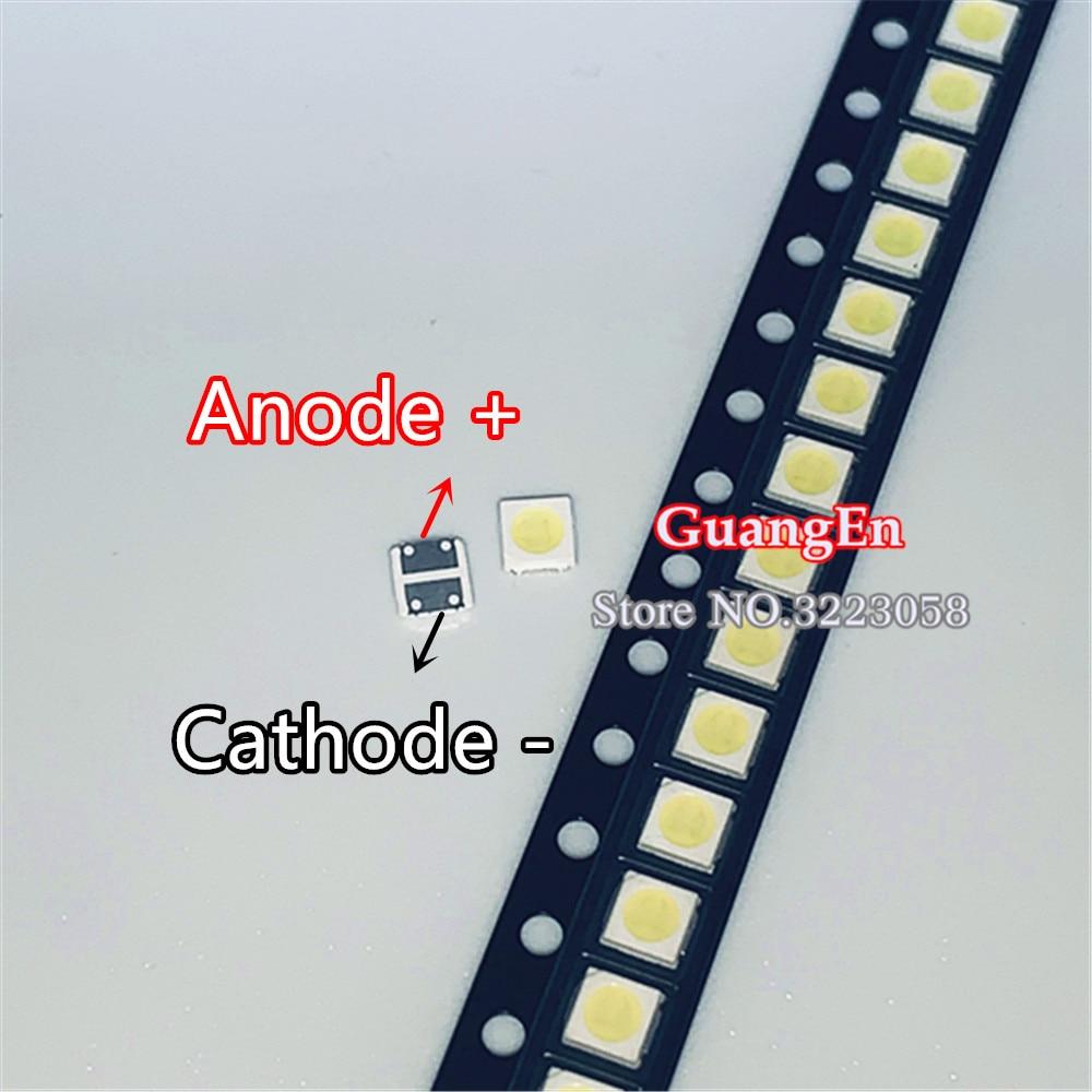 500 قطعة أصلية لـ CREE LED 3030 6V 2W 2-رقاقة خرز المصباح, 150-187LM LCD TV الخلفية عالية الطاقة LED 6V أبيض بارد PT30Z92 V0