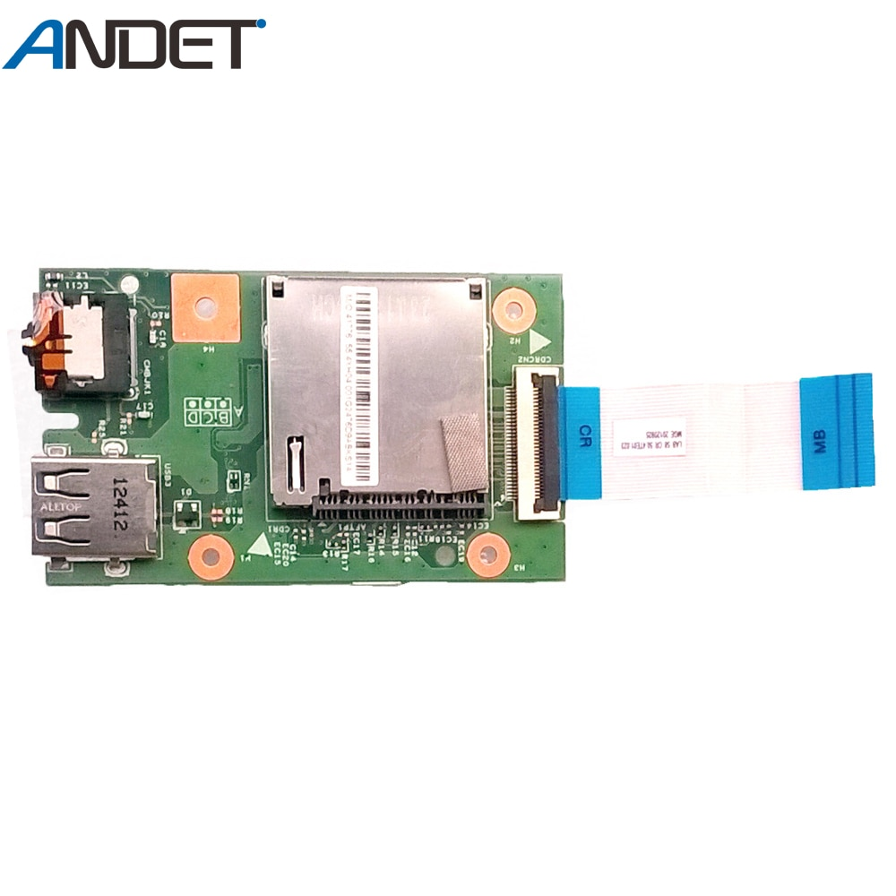Кардридер для ноутбука Lenovo B580 B590 V580 аудио звуковая плата USB карта с кабелем LA58 90000572 48.4TE03.011 55.4XH04.001