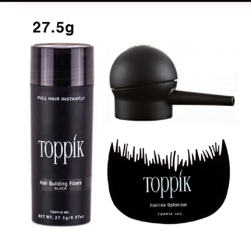 Hair Fibers Keratin Toppik Thickening Spray Hair Building Fibers 27.5g Loss Products Instant Wig Reg