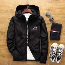 2020 Spring/Summer New Streetwear Men's Jacket Zipper Windbreaker Sweatshirt Slim Jacket Men's Casua