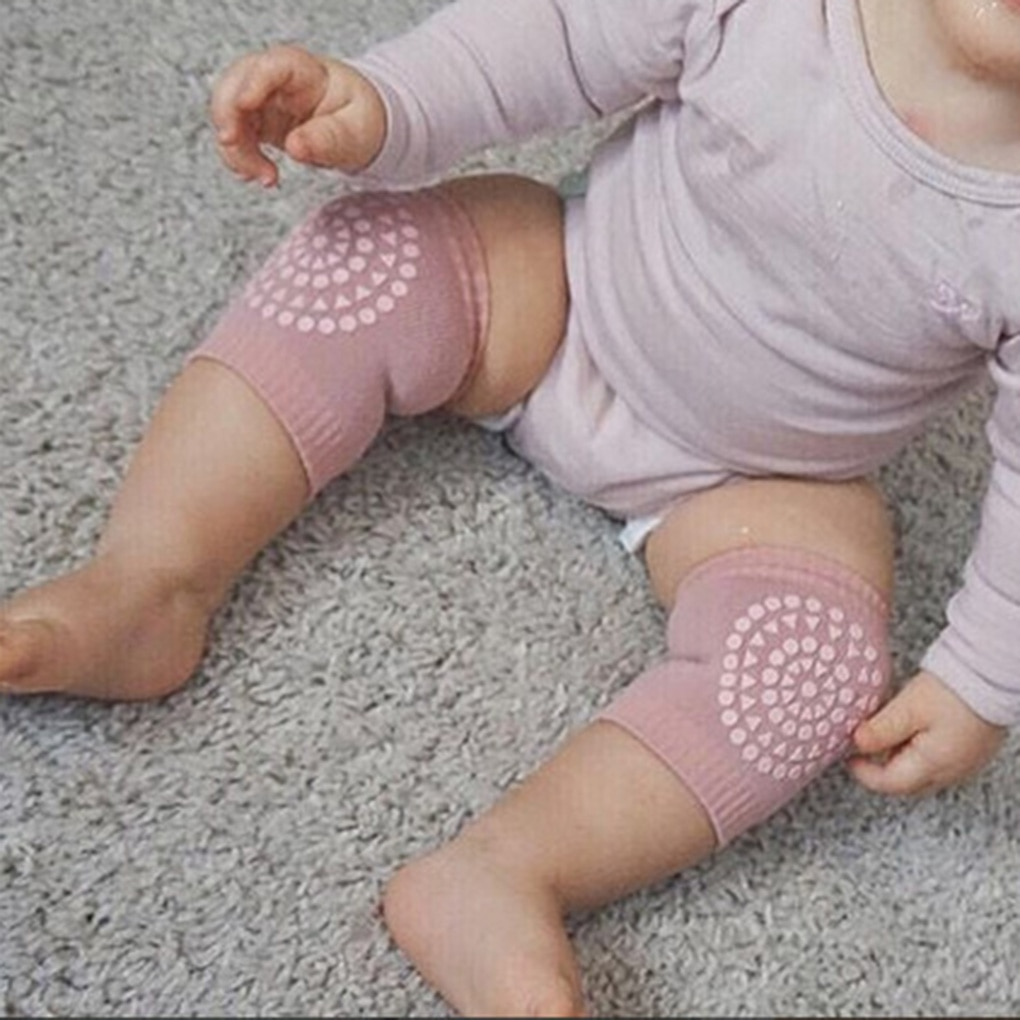 High Quality 1Pair Baby Knee Pad Kids Safety Crawling Elbow Cushion Infant Toddlers Baby Leg Warmer