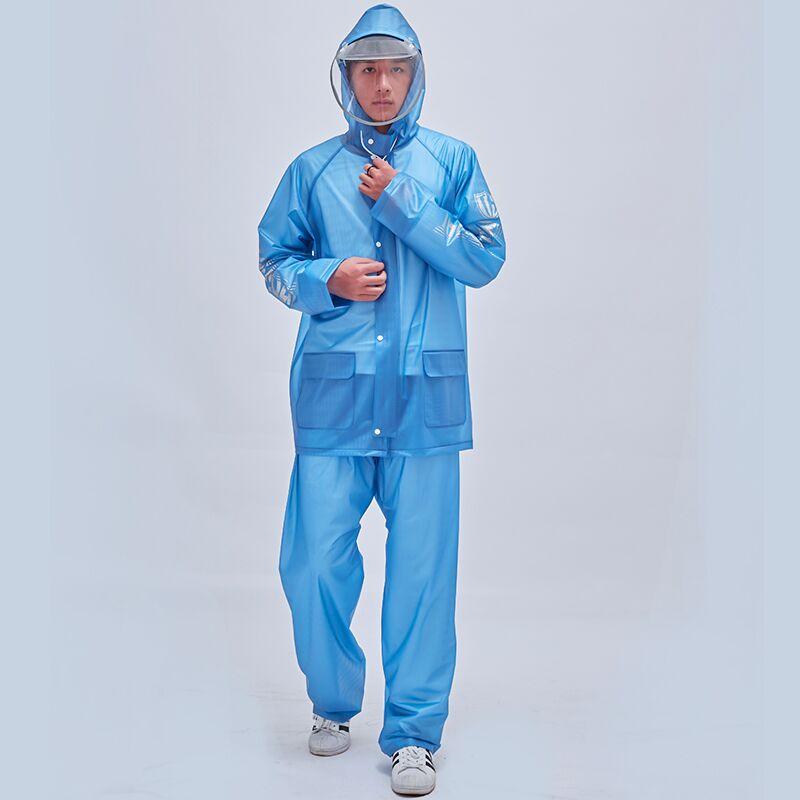 Hoodie Camping Raincoat Women Waterproof Transparent Summer Raincoat Aesthetic Suit Windproof Regenjacke Outdoor Product EI50RC enlarge