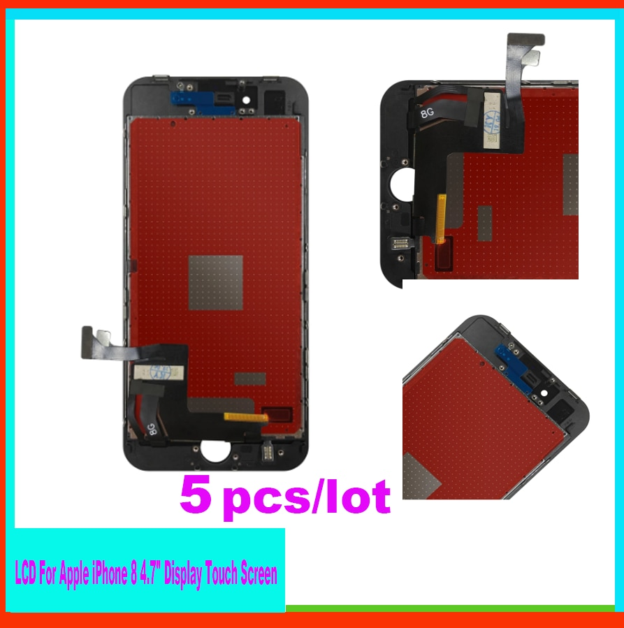 5pcs/lot Mobile Phone Accessories For Apple iPhone 8 4.7