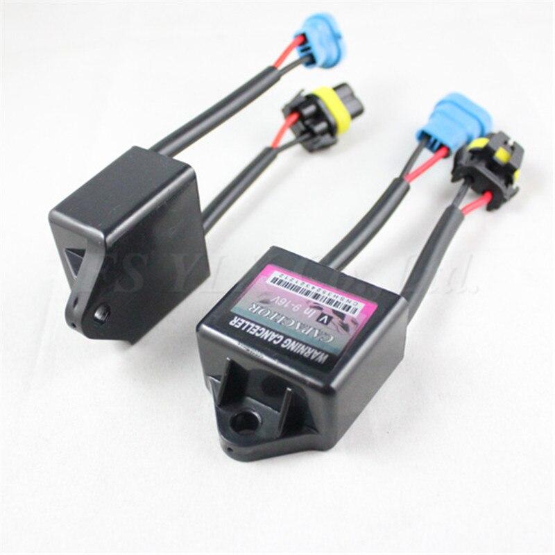 20 piezas C6 canbus decodificador cancelador de arnés Anti parpadeo libre de error para H4 H7 H8 H9 H10 H11 H13 9004, 9005 9006 hid faro