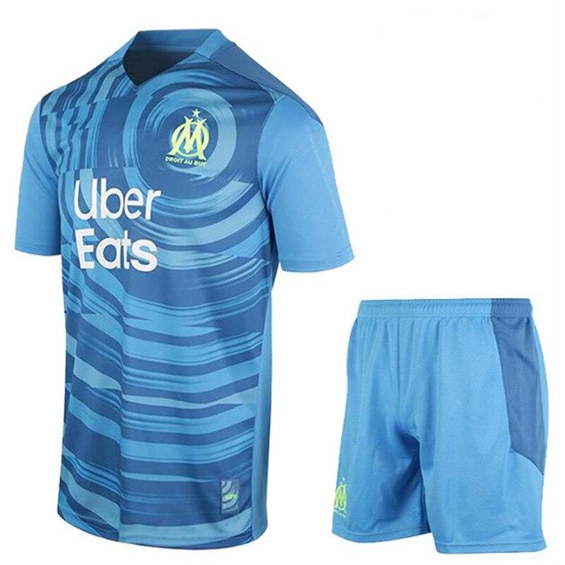 Nuevo 2020 2021 Marsella camiseta adulto kit + kit de BENEDETTO PAYET...
