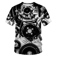 2021 summer hot sale mens and womens t shirt fashion 3d printing fashion casual sports t shirt short sleeve o neck breathable