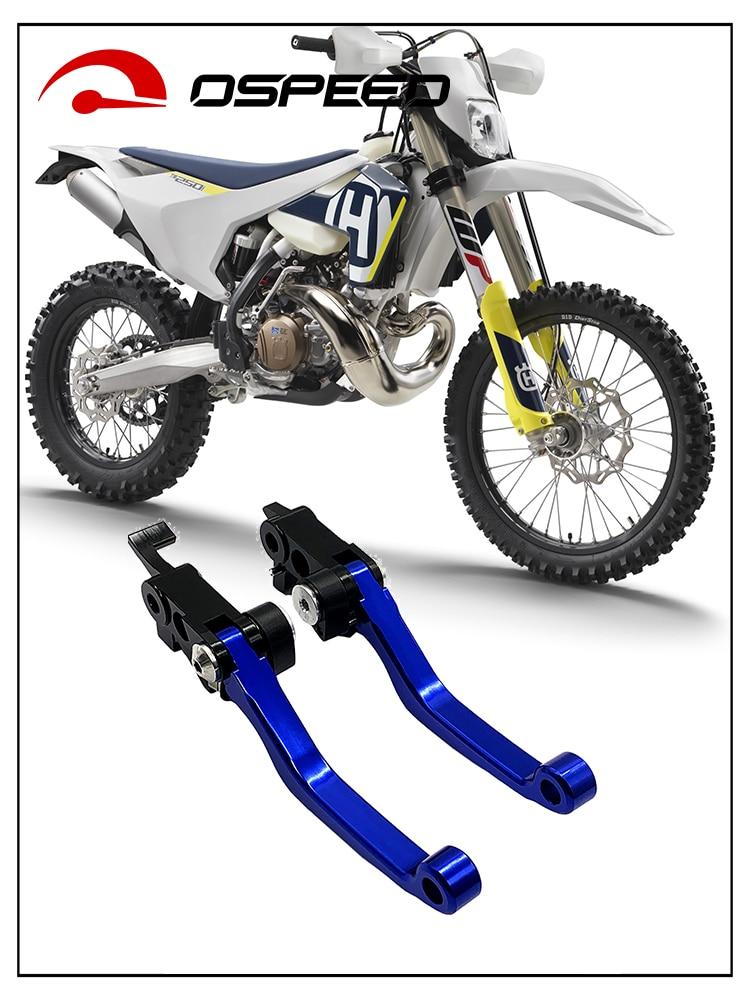 Alavancas de freio de motocicleta para om fe350 fe450 fc450 fx350 fx450 te250i te300i fe250 fe501 fc250 fc350