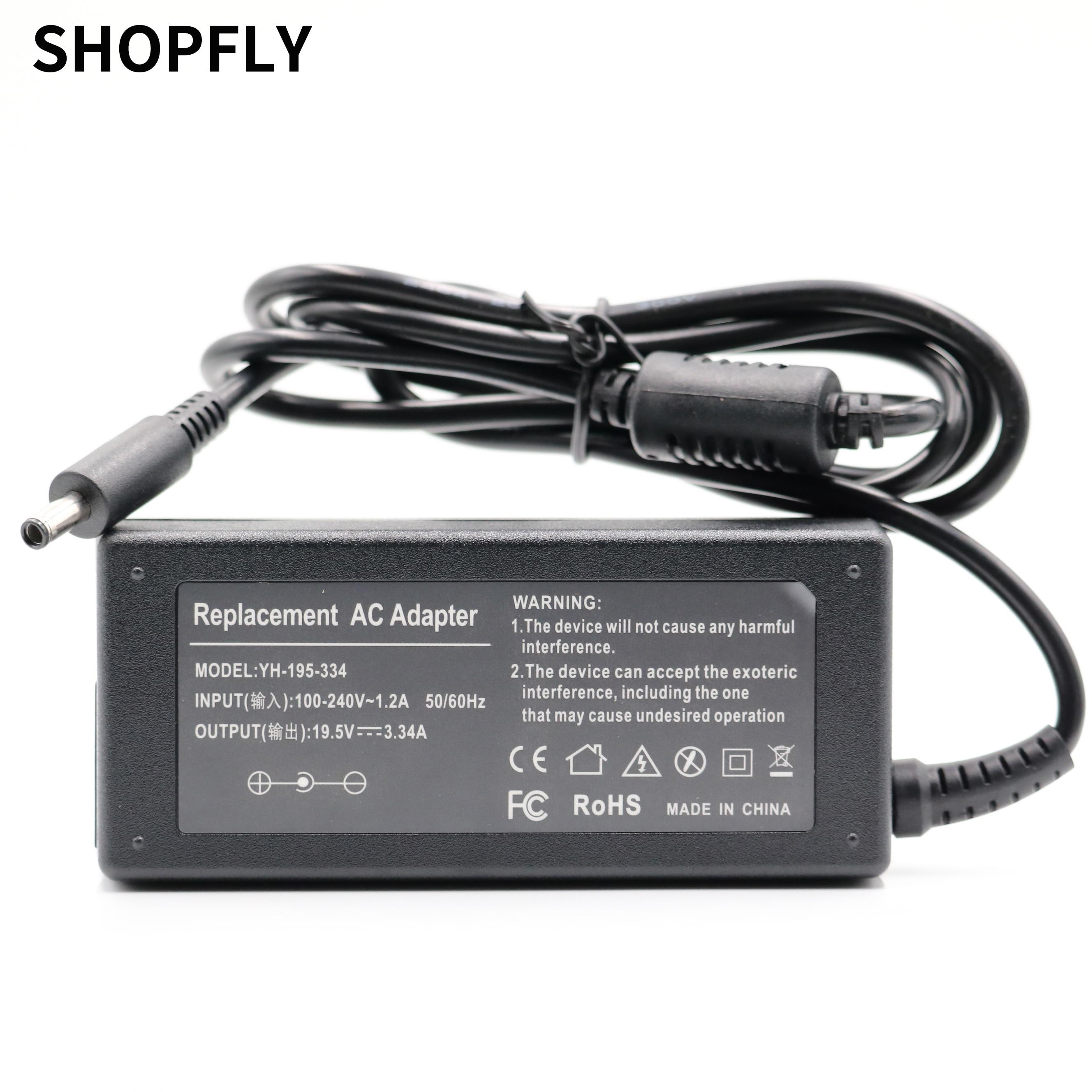 19.5V 3.33A 3.34A Laptop AC power adapter para HP EliteBook 720 725 G1 G2 740 745 750 755 2170p 2540p 2560p 2760p 2510P