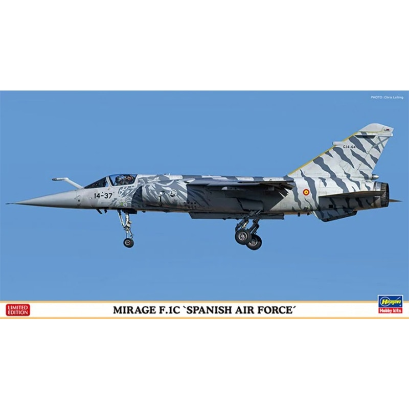 Hasegawa Plastic Assembly Military Model 1/72 Scale Spanish Air Force Phantom F.1C Dual Aircraft Combination DIY Assembly Kit
