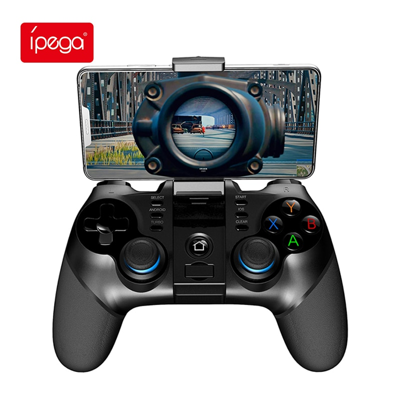 Ipega Gamepad PG-9076 Bluetooth 2.4G Wireless Game Console Controller Mobile Trigger Gaming Handle Joystick for Android TV PC P3