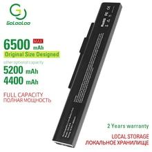 Golooloo 6 cellules batterie dordinateur portable A42-A15 pour MSI Medion Akoya E6221 E6227 E7219 P6631 P6815 P7621 P6634 P7815 Erazer X6815 X6816
