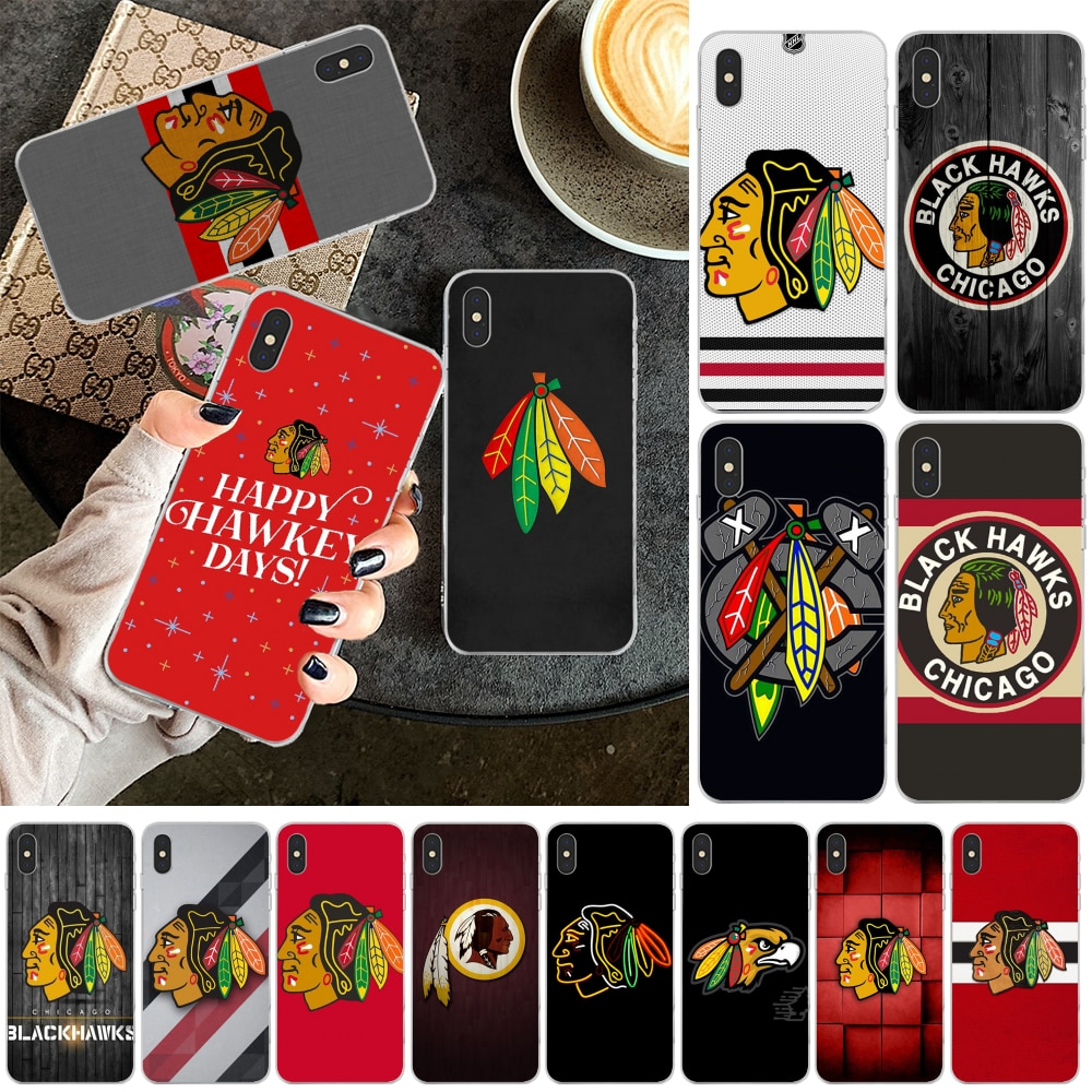 Reayou Chicagohawks personalizado foto funda de teléfono suave para iPhone 11 pro XS MAX 8 7 6 6S Plus X 5 5S SE XR cubierta