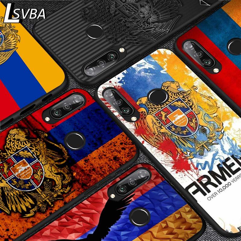 Bandera de Armenia para Huawei P inteligente S 2020 Mate 10 20 30 P40 Lite Nova 3i 4e 5 5T Y5 Y6 Y7 Y9 Pro primer 2019 caja del teléfono