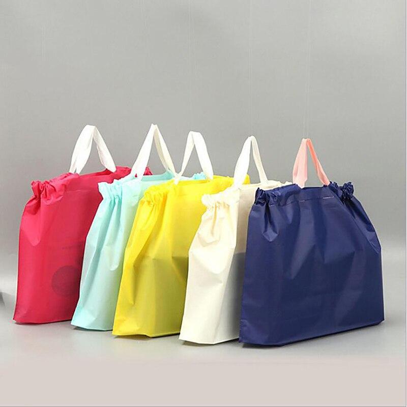 Bolsa de viagem feminina pequena bolsa de pano de mercearia 25 unidades/pacote reutilizável eco unisex tote drawstring bag feminino dobrável sacola de compras
