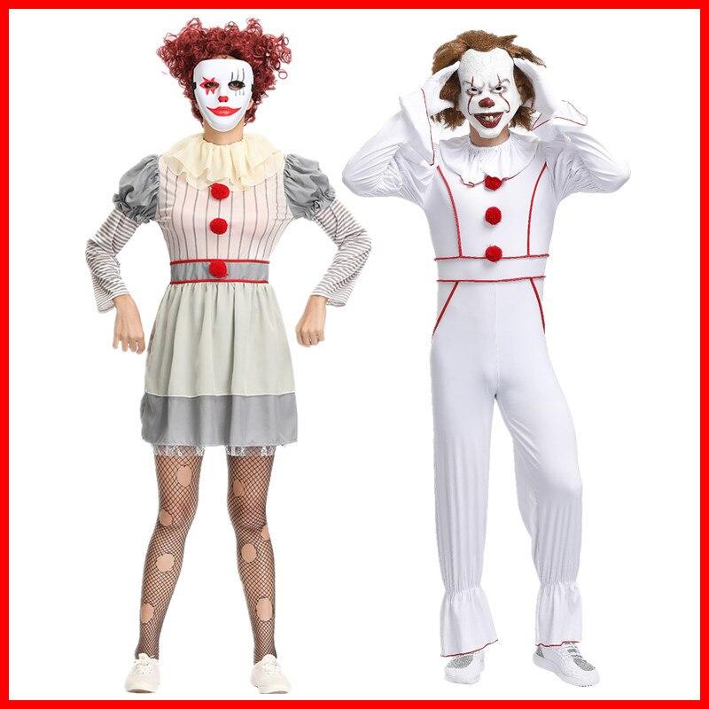 Película It Capítulo Dos Pennywise circo payaso uniforme mono Cosplay disfraz Halloween payaso divertido disfraz payaso