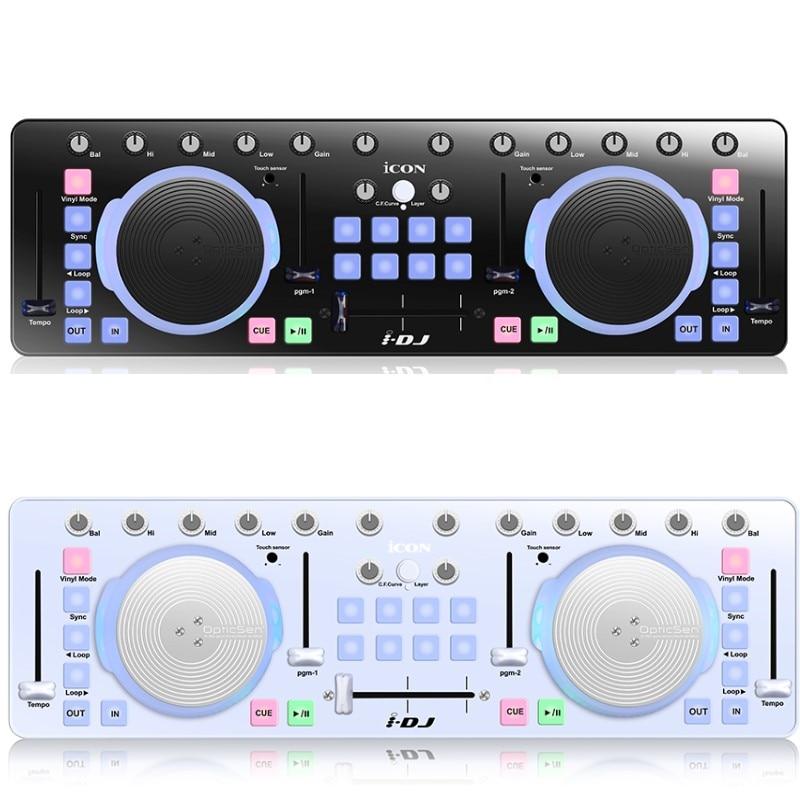 Icono de I-DJ IDJ Mini USB MIDI/controlador DJ Profesional mezclador de Audio...