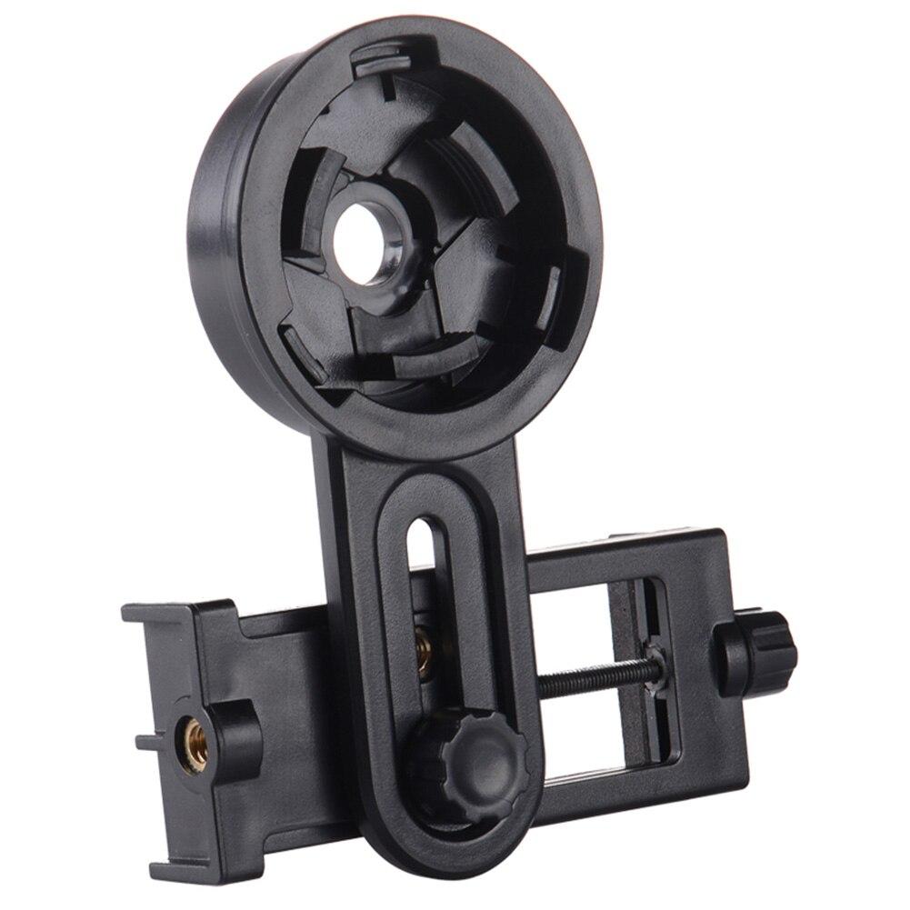 Venda quente universal telefone celular fotografia rápida adaptador suporte de montagem clipe para telescópio binocular