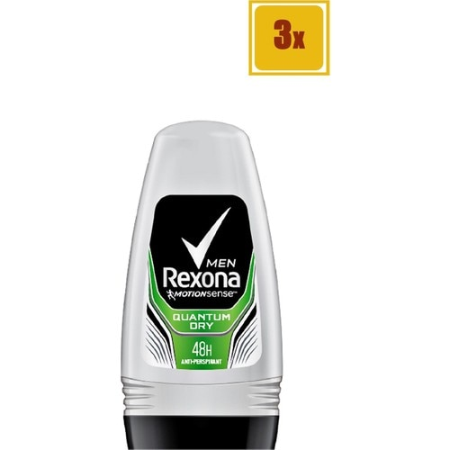 Roll On - Rexona Quantum - Men - 50 ml - 3 Pcs недорого
