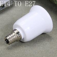 Convertisseurs de lumière E14 à E27 adaptateur prise de Conversion matériau de haute qualité douille ignifuge adaptateur lampe titulaire