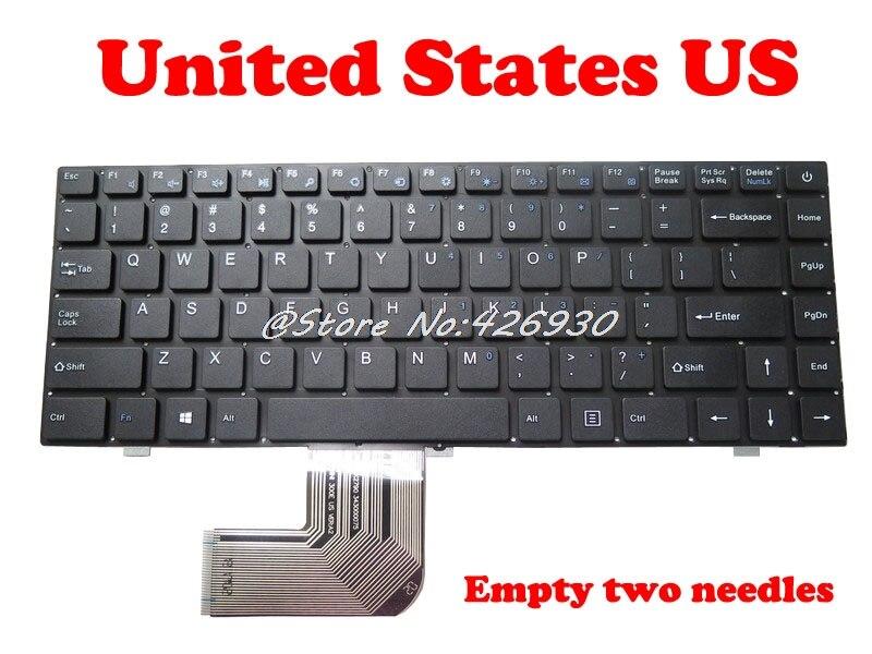 لوحة المفاتيح الإنجليزية ل EZBook 3L Pro TH140K 343000075 DK-Min 300E Ver:01 DOK PRIDE-K2790 DK-Mini 300E US Ver:A1