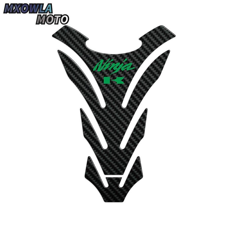 Etiqueta da motocicleta decalque óleo de gás tanque combustível almofada protetor caso para ninja 250 300 z650 z750 z900 z1000 moto
