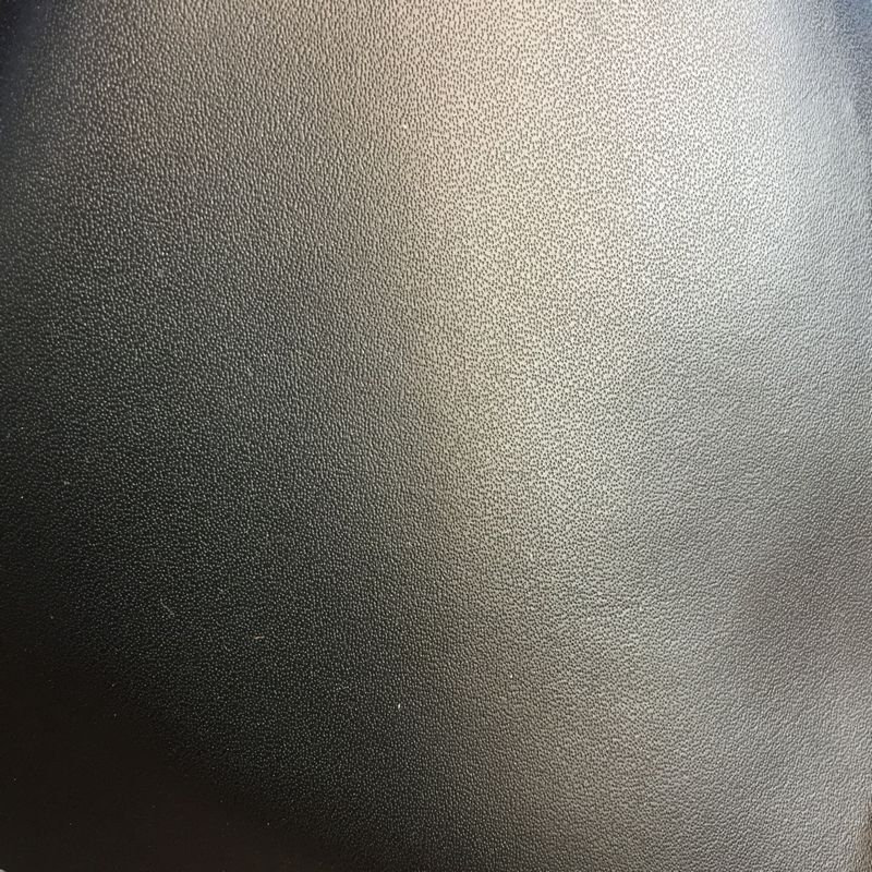 1,2 MM de espesor microfibra PU líneas finas material de cuero sintético