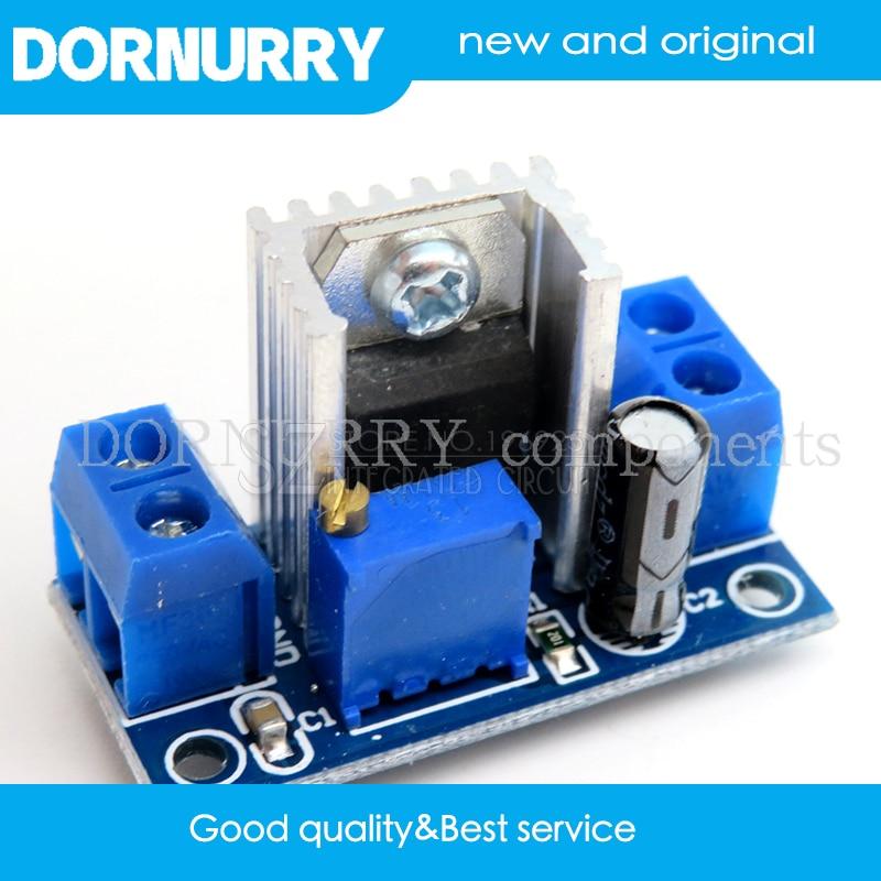1PCS DC-DC Converter Buck LM317 Step Down Circuit Board Module Linear Regulator LM317 Adjustable Voltage Regulator Power Supply