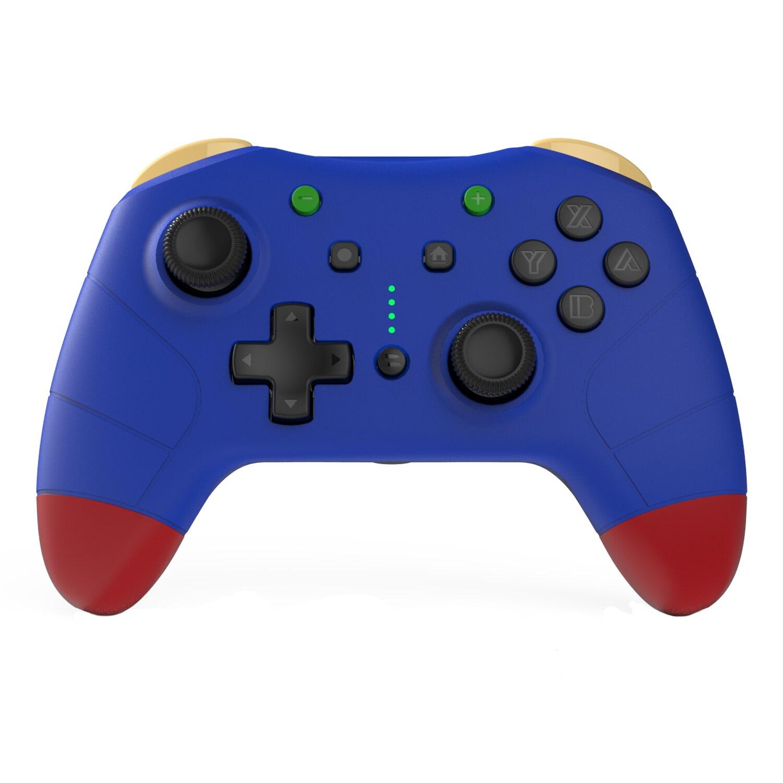 النخبة أداة تحكم في الألعاب لاسلكية لنينتندو سويتش ، وحدة تحكم قابلة للبرمجة مع أزرار الظهر مخصصة للتبديل