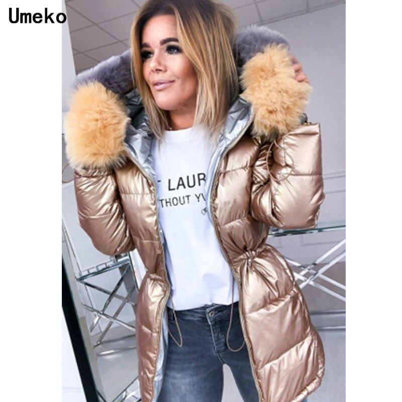 2021 New Winter Female Jacket Hooded Coat Women Fashion Jackets Winter Warm Woman Clothing Be Worn O