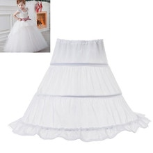 Jupe bouffante blanche en Tulle pour petites filles   Accessoires de mariage, jupon, sous-jupe, vêtements Tutu pour enfants