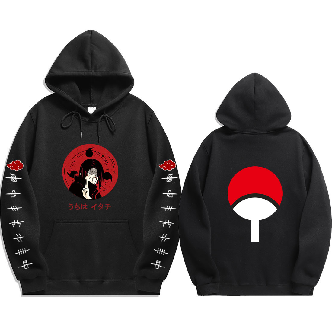 Trend style Japan Anime Handsome lead character   Dynamic Hoodies character  Hip hop   Hoodies