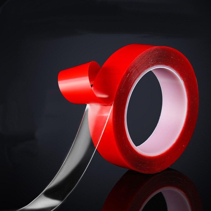 10 mm przezroczysta silikonowa taśma dwustronna do użytku domowego przyklejany do ściany taśmy samochodowe
