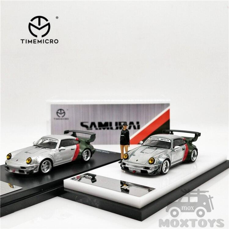 timemicro carro cibernetico samurai comum luxuosos rwb 964 carros de modelo 164 rwb