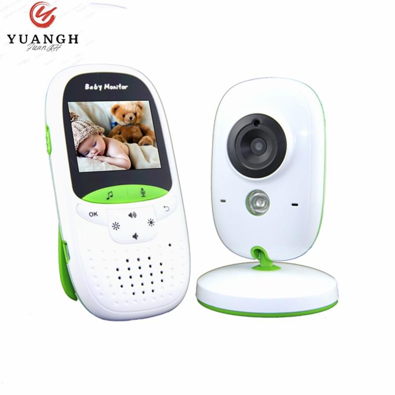 بيبي فون كاميرا فيديو مربية مراقبة الطفل مع كاميرا الأمن Babyfoon مراقبة درجة الحرارة للرؤية الليلية