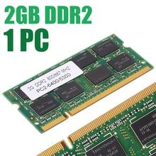 800/667Mhz 2GB DDR2 Memory Niedrigen-Dichte 200pin Notebook Speicher PC2 6400/5300 Laptop RAM für Dell sony Toshiba 1,8 V CL5