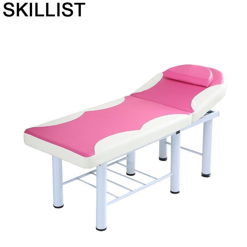 Cama Plegable para masaje Dental, Silla Plegable para salón De belleza