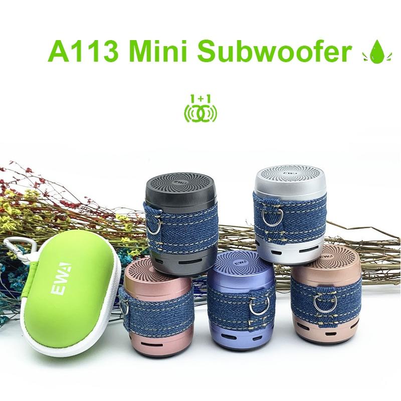 EWA A113 parlante con Altavoz De graves Mini Bluetooth Caixa De Som...