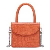 bolsos mujer mini box design pu leather crossbody bags for women 2020 summer luxury shoulder handbags female cell phone pocket