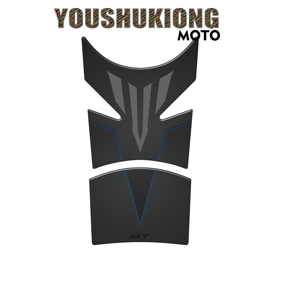 3D Motorcycle Tank Pad Protector Decal Stickers Case for  MT-09 MT-10 MT-03 MT-01 MT-07 MT-25 MT-125