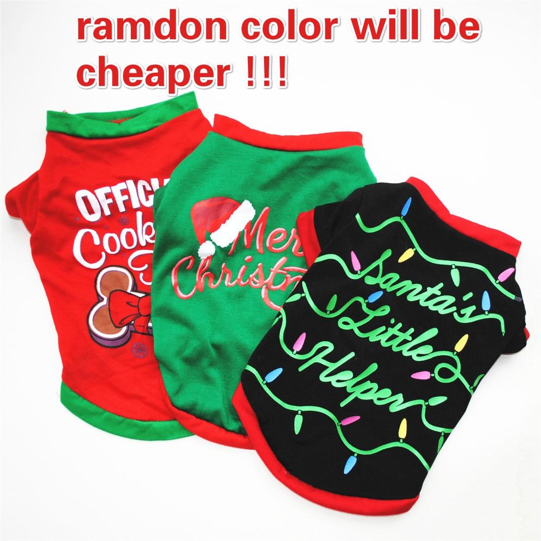 Productos para mascotas, ropa para perros, disfraz de Navidad, vestido de decoración directa de fábrica para perros pequeños, ropa de invierno para mascotas