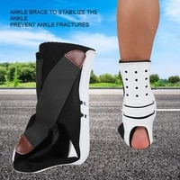 ankle protection support hemiplegia rehabilitation equipment foots sagging deformation bending orthosis guard foot plate support