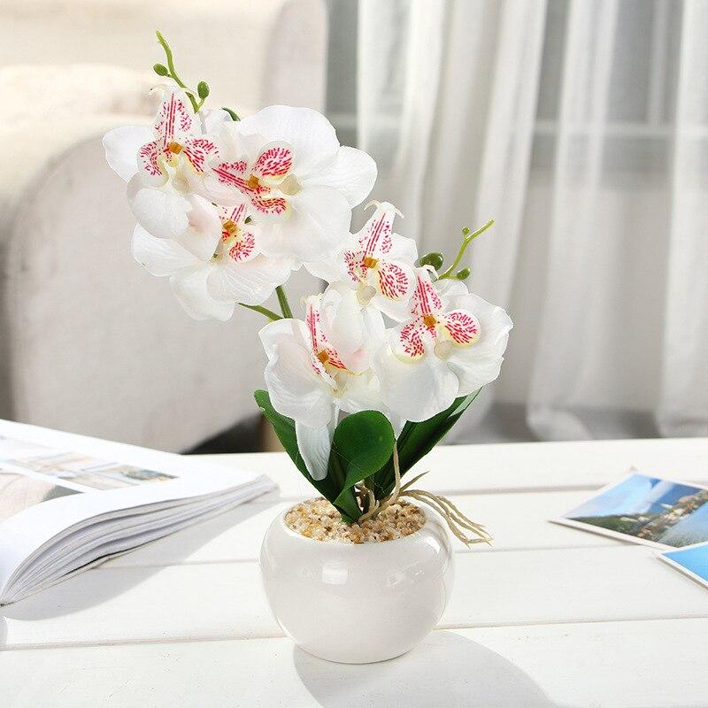 Orquídea mariposa artificiales flor Floral fiesta boda hogar Decoración regalo